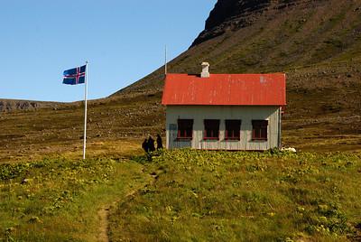 Aðalvík - Staður. Prestsetrið.