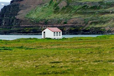 Aðalvík - Sæból. Skólinn 2013.