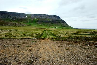 Sýsluvegurinn Sæbóli Aðalvík.