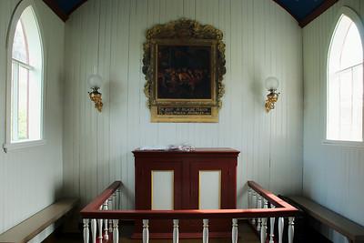 Í Staðarkirkju í Aðalvík