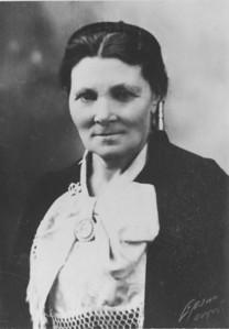 Guðríður Helgadóttir. Guðfríður flytur á Horn til dóttur sinnar ca. 1915.