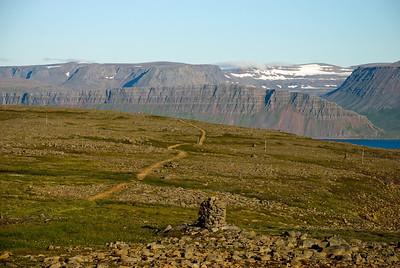 Gönguleiðin á Sléttuheiði
