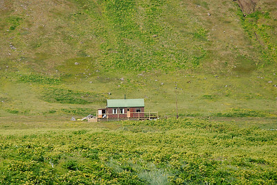 Aðalvík - Sæból. Ellubær. 2012.