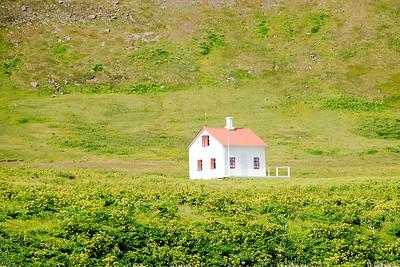 Aðalvík - Sæból. Steinhúsið. 2012.