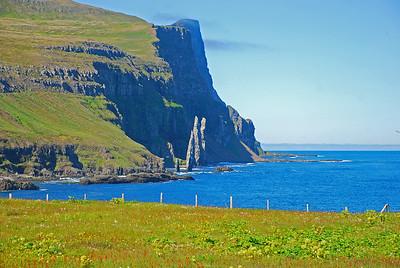 Hornbjargið séð úr Látravík