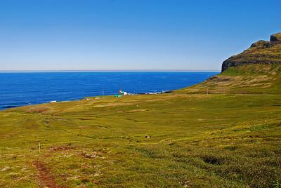 Hornbjargsviti í Látravík