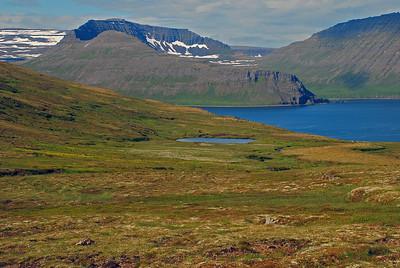 Darri, Einbúi, Atlaskarð, Tröllakambur og Rekavík bak Höfn