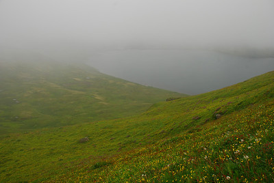 Dimmt yfir Hornvíkina