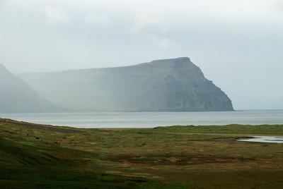 Horft yfir Aðalvík á Ritinn