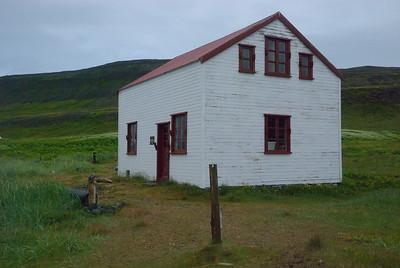 Hesteyri. Búðin. 2011.