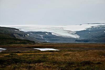Drangajökull í Leirufirði