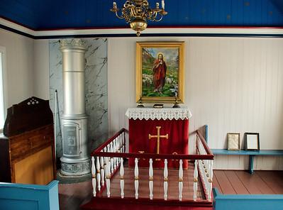 Í Staðarkirkju í Grunnavík