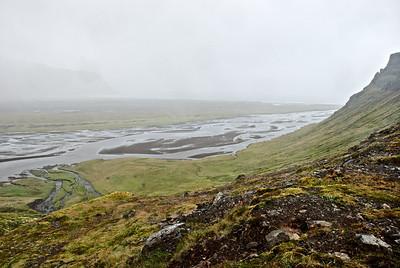 Horft niður eftir Hafnarós.