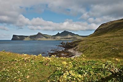 Horn, Ystidalur, Miðfell, Miðdalur, Jörundur, Kálfatindur og Innstidalur