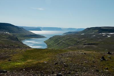 Hesteyrarfjörður.