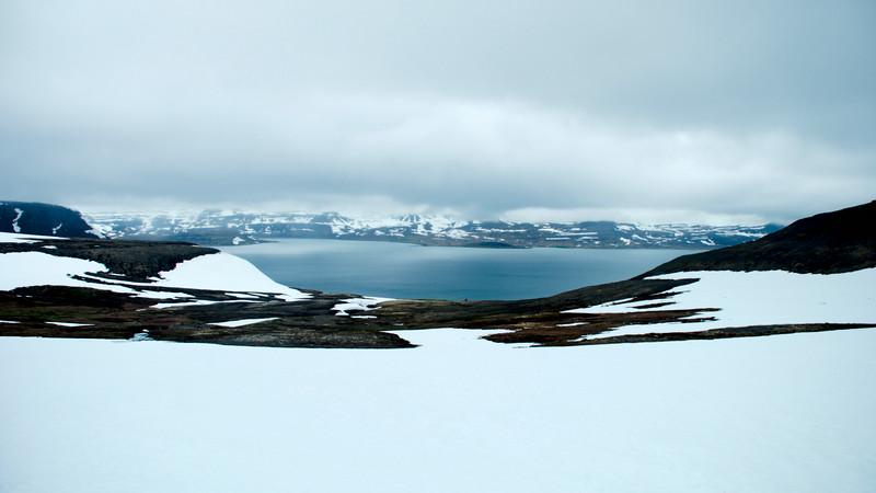 Horft yfir Jökulfirði