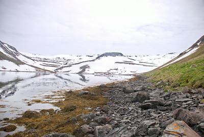 Horft inn Veiðileysufjörð