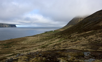 Horft út Hornvík