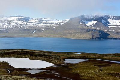 Horft yfir að Höfn