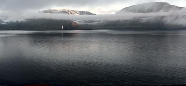 Horft yfir Hornvík