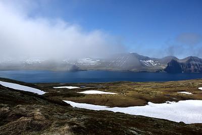 Horft yfir Hornvík úr Miðdal