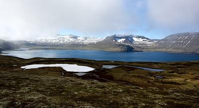 Horft úr Miðdal yfir Hornvík