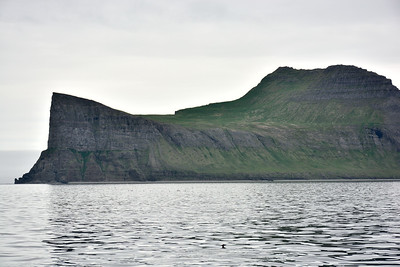 Horn, Ystidalur og Miðfell