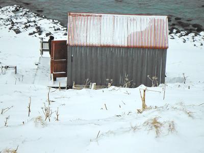Hornvík - Horn. Sjávarhúsið 2014.