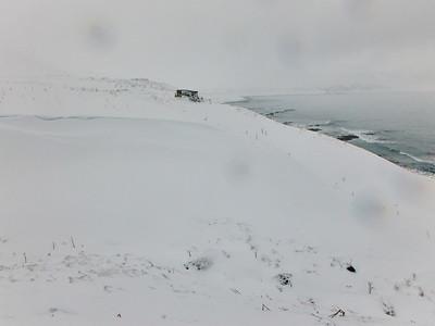 Horft inn Hornvík