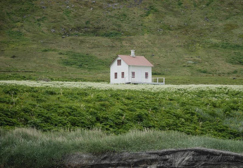 Aðalvík - Sæból. Steinhúsið 2014.
