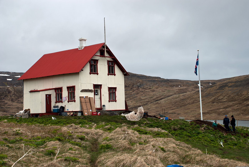Aðalvík - Staður. Prestbústaðurinn. 2011.