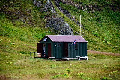 Hornvík - Landvarðarhúsið. 2010.