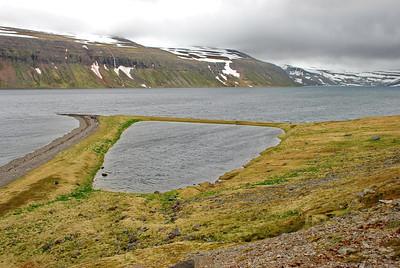 Sauðungseyri - Sauðhúsaeyri. Lónafjörður.