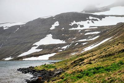 Lónbjarnastaðir framundan.