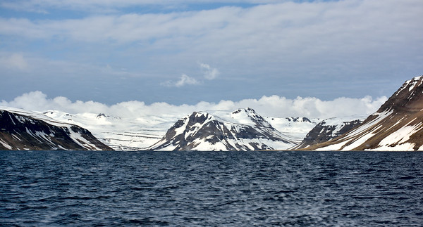 Lónafjörður. Miðkjós, Einbúi og Sópandi