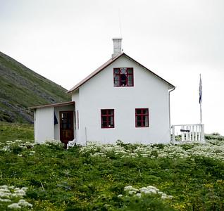 Aðalvík - Sæból. Steinhúsið.