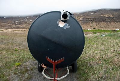Rotþró á leiðinni frá Sæbóli að Stað