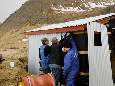 Bræðurnir Guðjón, Frímann og Stígur