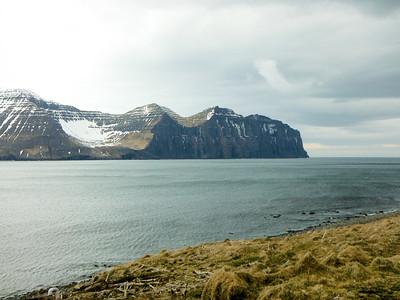 Hvannadalur og Hælavíkurbjarg