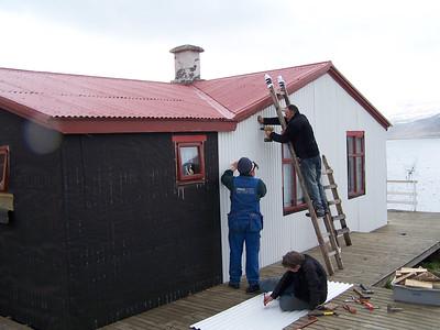Guðjón, Frímann og Rúbbi.