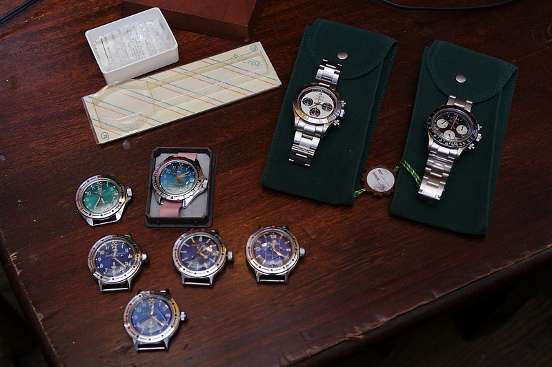 Okay, enough people pictures!  Lets get onto the watches!!!!!! :-D