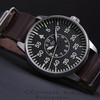 Laco Type B Aachen with leather NATo strap by WillJ.