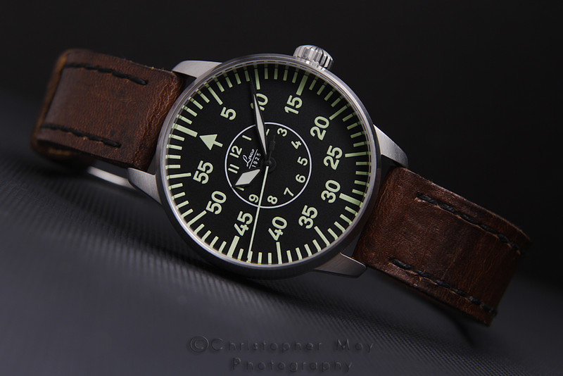 Laco Type B Aachen with Arsenal Strap by Timeofplenty.