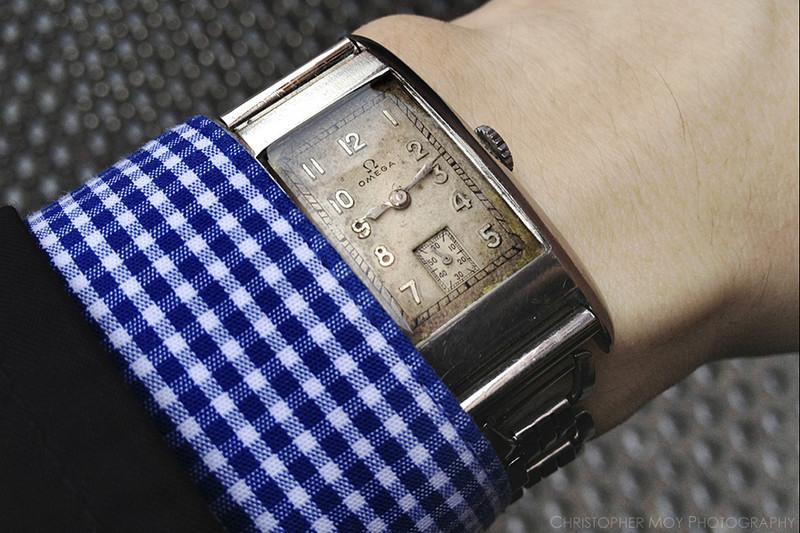 With vintage Kreisler Dura-Brite bracelet, US PAT. 2,064,760