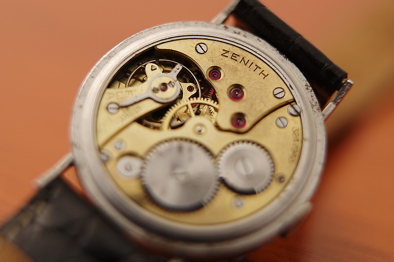 1939 Zenith cal 12.4<br /> Info from Zenith:<br /> Manufactured on June 29, 1939