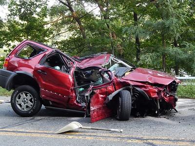 Horrific Dracut crash - August 30, 2018