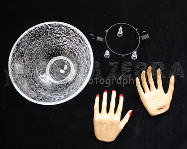 Witch Hand Candy Serving Bowl-3