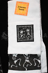 Skeleton Hand Kitchen Towels-2pc