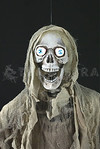ANIMATED ZOMBIE GHASTLY GHOUL Life-Size Light-up Sound Halloween Prop -2