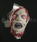 Sound-Activated Life-size SEVERED ZOMBIE HEAD & Light Eyes Gothic Prop
